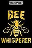 Composition Notebook: Bee whisperer beekeeper honey pollen J