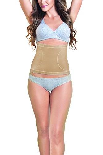 dermawear Women's Blended Tummy Reducer (A-104_Skin_Large)