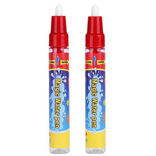 Pssopp 2 uds, bolígrafos de Dibujo de Agua, bolígrafos mágicos de Repuesto para Agua, bolígrafos para Colorear al Agua, bolígrafo de Dibujo para niños de 3 años más