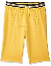 OVS Boy's Shorts, Orange (Banana 1511)