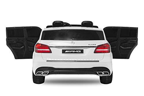RC Auto kaufen Kinderauto Bild 4: Nitro-Motors 2-SITZER Kinderauto Mercedes GLS63 AMG 2x35W Elektroauto Kinderfahrzeug GLS GLE (Weiss)*