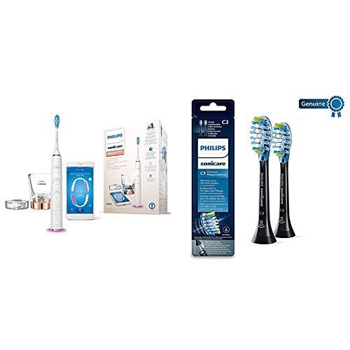 Philips Sonicare - Cepillo de Dientes Eléctrico DiamondClean Smart HX9901/63 + Pack...