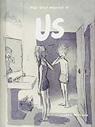 cover of us book by curtis wilkund cartoon couple brushing teeth