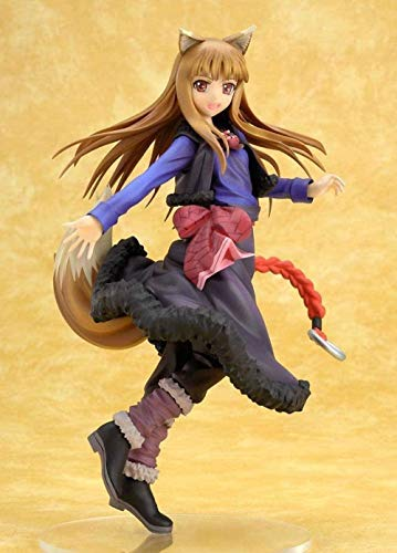 Anime Characters Model Spice and Wolf Holo Action Figure Toy Collectibles Souvenirs Gift Doll 20cm