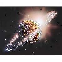 DIY 5D ダイヤモンドペインティングキット 大人用 フルドリル 刺繍 絵画 ラインストーン 貼り付け DIY 絵画 クロスステッチ アートクラフト ホームウォールデコ 30 x 40 cm / 11.8 x 15.7インチ AB-DP100-0012