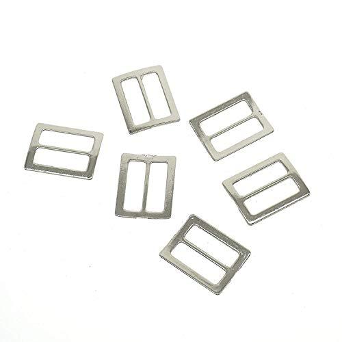 Cooplay 20st metalen vierkante ring gesp DIY bagage riem schoen hoed dia maken naaien ambacht binnen breedte 25mm DIY