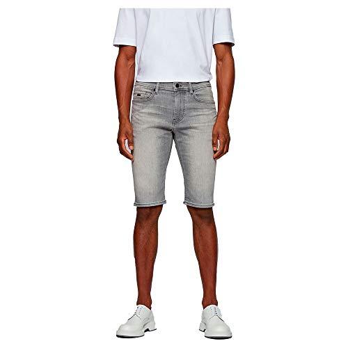 BOSS Taber-Shorts BC-p 10233493 01 Pantalones Vaqueros, Light/Pastel Grey50, 34 para Hombre