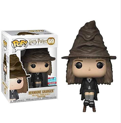 Funko POP! Harry Potter: Hermione con el sombrero seleccionador