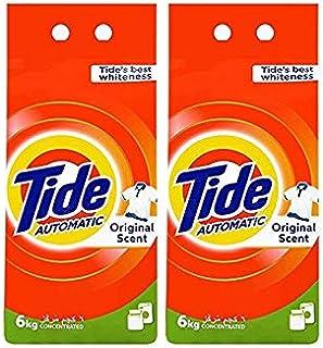 Tide Automatic Laundry Powder Detergent, 2 x 6 kg