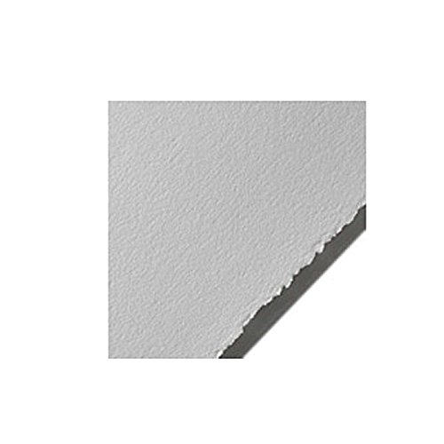Legion Stonehenge Paper, Cotton Deckle Edge Sheets, 22 X 30 inches, Polar White, Pack of 10 (F05-STN250PWH10)