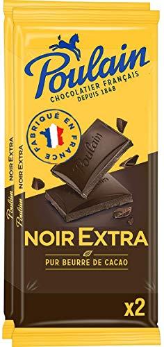 Poulain Chocolat Noir Extra 2 x 100 G