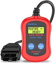 Autel MS300 Universal OBD2 Scanner Car Code Reader, Turn Off Check Engine Light, Read & Erase Fault Codes, Check Emission Monitor Status CAN Vehicles Diagnostic Scan Tool