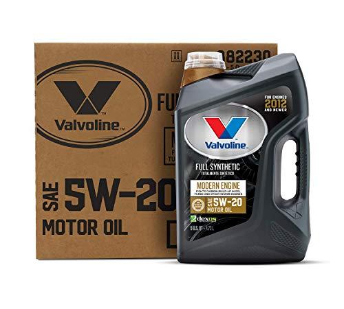 Valvoline Modern Engine SAE 5W-20 Full Synthetic Motor Oil 5 QT, Case of 3