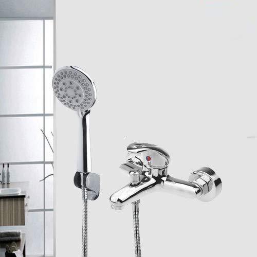 Grifo monomando para bañera grifo de bañera cascada con alcachofa ...