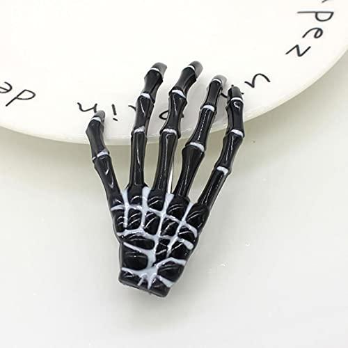 U/D Halloween Skeleton Hands Bone Hair Clips - Cute Colorful Boutique Clip,...