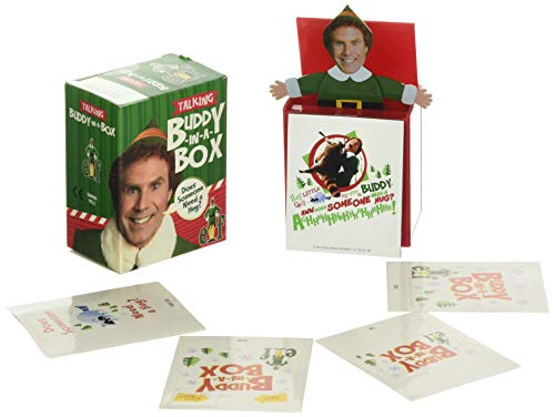 Elf Talking Buddy-in-a-Box: 'Does somebody need a hug?'
