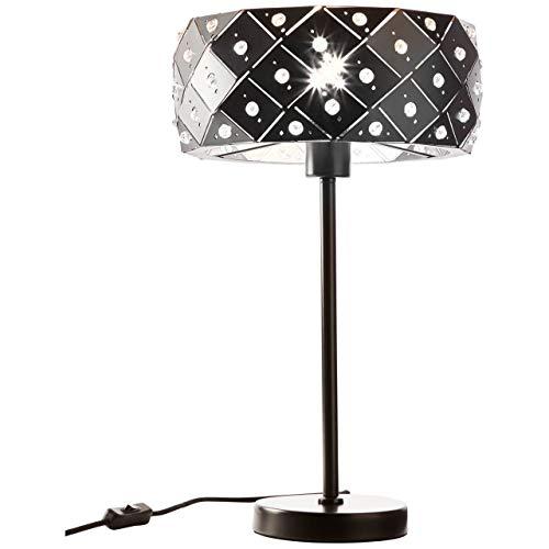BRILLIANT lamp Fona tafellamp bruin/koffie |1x A60, E27, 60W, geschikt voor standaardlampen (niet inbegrepen) |Schaal A ++ tot E |Met snoerschakelaar
