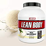 Lean Body All-in-One Vanilla Meal Replacement Shake. 35g Protein, Whey Blend, 7g Healthy Fats & Fibre, 22 Vitamins and Minerals, No Artificial Colours, Gluten Free, (4.6lb Jug) LABRADA