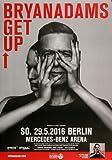 Bryan Adams - Get Up, Berlin 2016 » Konzertplakat/Premium