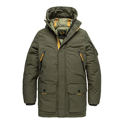 PME Legend Long Jacket Ice Pilot - Winterjacke, Größe_Bekleidung:XL, Farbe:Beluga