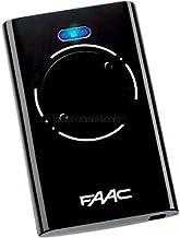 Faac zender Xt2 868 Slh Lr, zwart