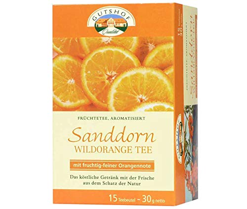 avita Sanddorn Wildorange Tee (15 Teebeutel)