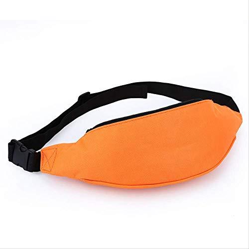 FHDC heuptas sporttas schoudertas heren looptas voor dames modieuze tassen, Oranje. (Oranje) - 7897417460830