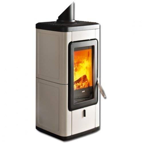MCZ VELD raumluftunabhängiger Kaminofen 7 kW Holzofen Kamin Ofen Veld-7-warm grey