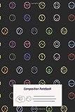 Composition Notebook: Pokemon Modern Elements Composition Notebook for Journaling, Note Taking in schools