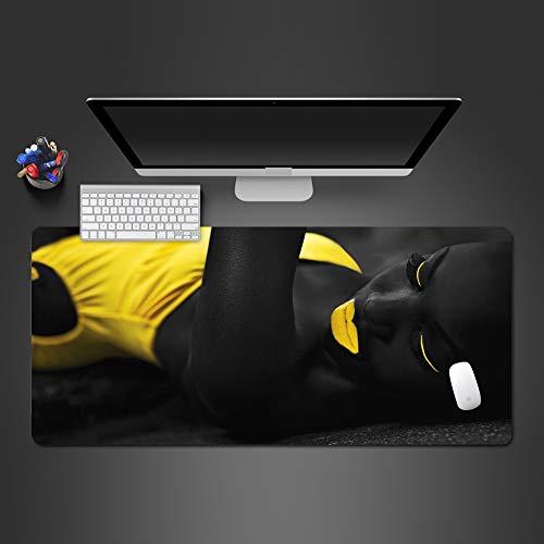 Alfombrilla de ratón súper Caliente, de Alta Velocidad, Juego rápido, computadora, Mouse Pad, computadora, Teclado, Mouse Pad, Reproductor, Mejor Regalo 900x400x2