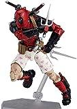 JXXDDQ Vengadores Toys - Serie X-Men Deadpool Figura de acción articulada modelo móvil decoración Infinity War Toys niños cumpleaños regalo colección juguetes