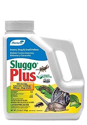 Monterey LG6570 Sluggo Plus Wildlife and Pet Safe Slug Killer, 2.5 lb