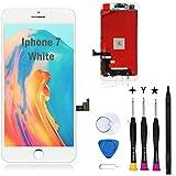 Oli & Ode iphone 7 液晶パネル iphone7 フロントパネル交換 iPhone 7 修理パーツ iphone 7 screen replacement フロントパネル 3D 液晶パネルタッチスクリーン修理交換用 A1660 A1778 A1779 (7 ホワイト)