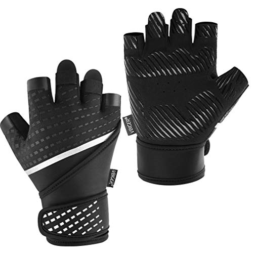 VBG VBIGER Workout Gloves for Men Women
