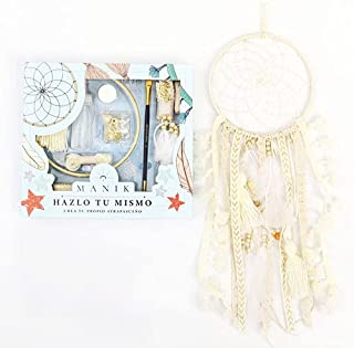 DIY Dream Catcher Kit I Make Your Own Dream Catcher Kit I Great Gift Idea for Boys Or Girls Who Love Craft Activities. Col...