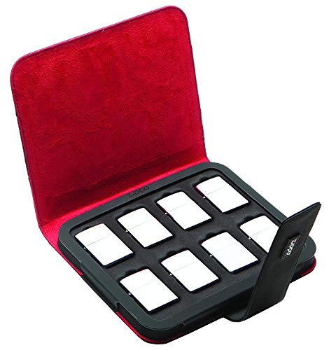 Zippo Collectors Case Holds Eight Lighters - Black