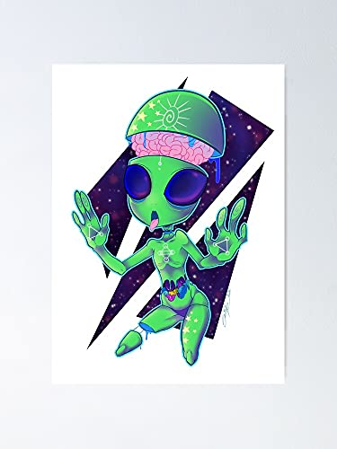 Situen Alien Gore Poster - for Office Decor, Dorm, Classroom, Gymnast and LGBT Besties, Holiday, Great Inspirational Wall Art