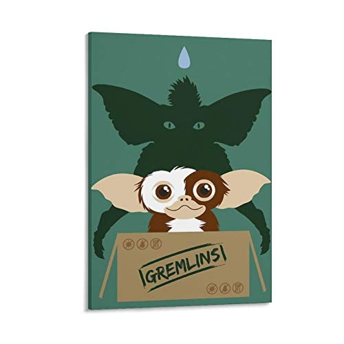 YANGNA Gremlins Gizmo Minimal Print Photo Art Painting Canvas Poster Home Decorative Bedroom Modern Decor Posters Gifts 24×36inch(60×90cm)