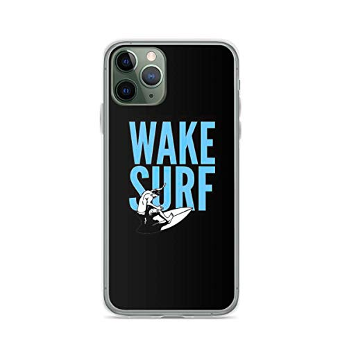 Wakesurf Wakesurfing Lover Wake Surf Surfing Gifts Compatibilidad iPhone 6 6s 7 8 X XS XR 11 12 Pro MAX Mini Se 2020 Charm Anti Bumper