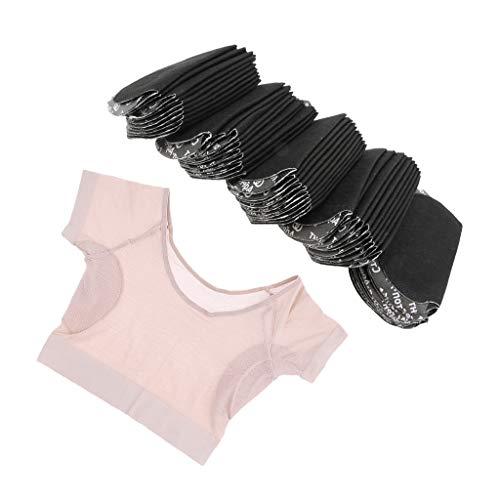 P prettyia Set protège-moignon ascelle anti-transpirants Camicia sous-bras maglietta donne asciugatura