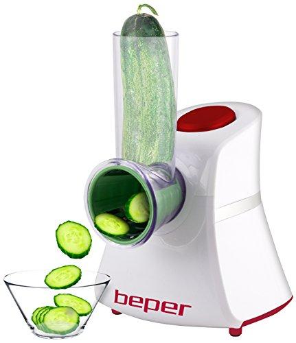 Beper 90055HRED Cortador de verduras multifuncional 150 W