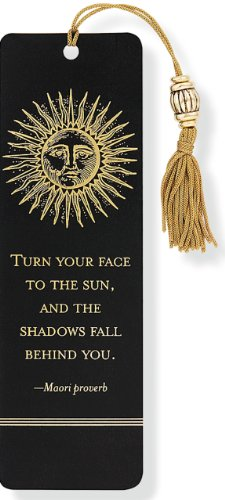 Sun Beaded Bookmark