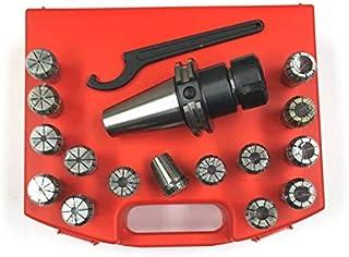 HHIP 3900-4068 17 Piece ER-40 NMTB40 Spring Collet Chuck Set