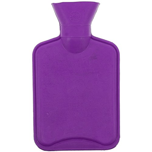 Promobo - Bouillotte Douceur Antan Rétro Coussin Chauffant 500ml Violet