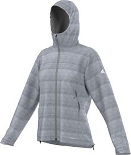 adidas Damen Funktions W Living Outdoors Jacke Funktionsjacke Herren, grau, 44