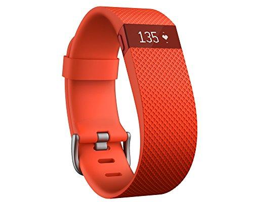 Fitbit Charge HR - Pulsera de actividad y ritmo cardíaco, color naranja,...