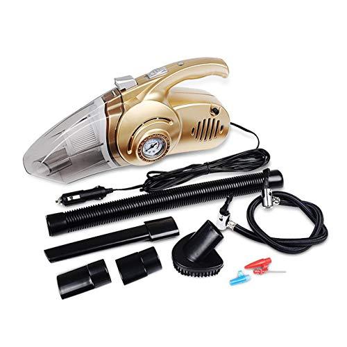 Ashley GAO Portátil 4 en 1 coche de doble uso Partes de aspirador de mano auto bomba inflable compresor de aire alta potencia con pantalla digital