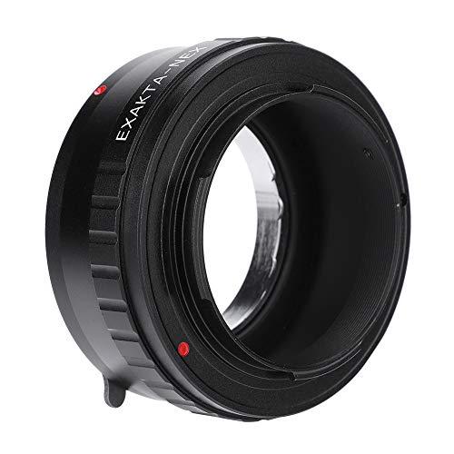 EBTOOLS EXA-NEX Manueller Fokussieradapterring für Exakta-Objektiv für Sony E-Mount Kameras ohne Spiegel (Schwarz)