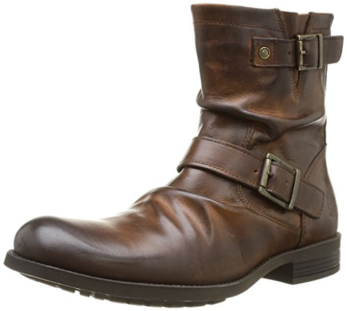 Base London Metal Ky02, Herren Stiefel, Braun (Marron (Waxy tan)), 43 EU