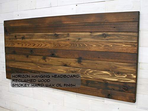 Reclaimed Wood Hanging Headboard   Horizon Design